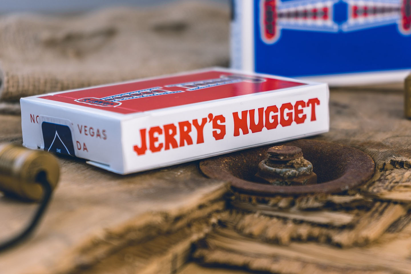 Jerry's Nugget Casino Playing Cards Kickstarter