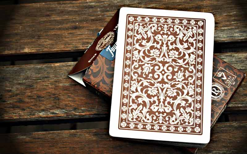 Brown Lee Asher 605 Playing Cards