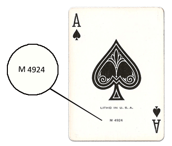 Want to know the age of your playing cards?