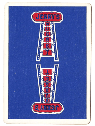 North Las Vegas Jerry's Nugget Casino Playing Cards